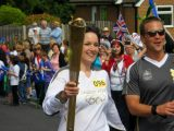 BARNSLEY2012: INTERVIEW WITH OLYMPIC TORCHBEARER HAYLEYYOUELL