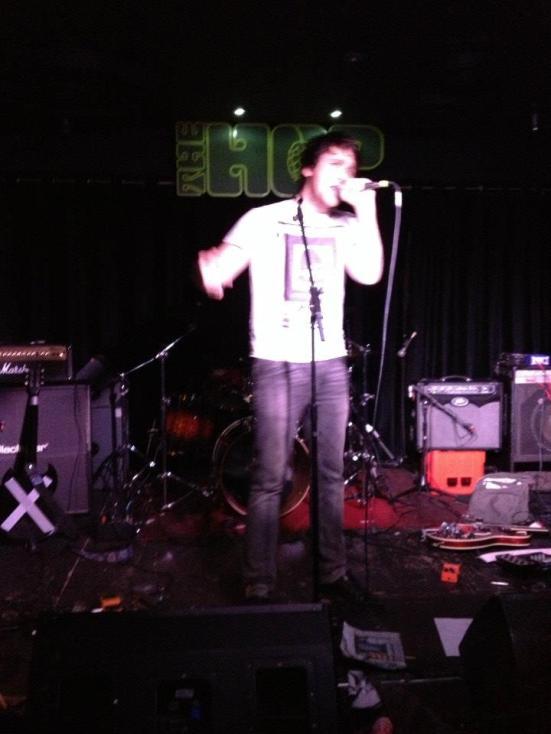 Matt Abbott of Skint and Demoralised. Photograph courtesy of Sally Lomas