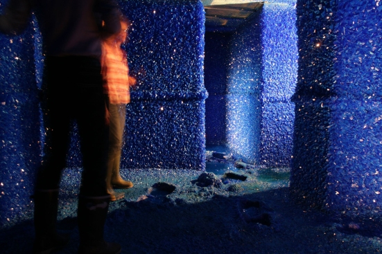 Roger Hiorns, Seizure, 2008. Courtesy the artist. Photo by Nick Cobbing