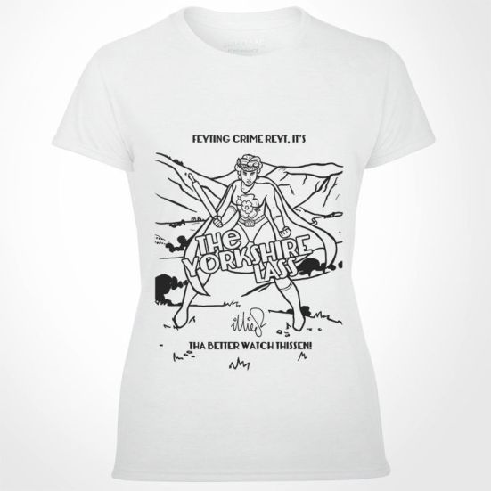 The Yorkshire Lass T-Shirt - Illies Clothing
