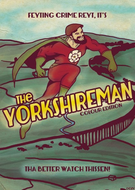 The Yorkshire Man (Colour Edition) - Roseanna 'Dozy' Hanson