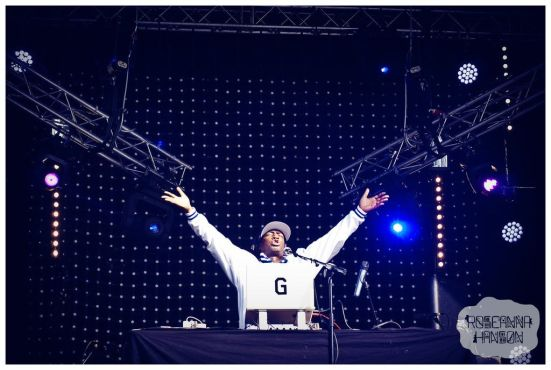 The legend himself Grandmaster Flash delivered a fun and varied DJ set of tunes from the 1980's onwards that got the whole crowd dancing and cheering.