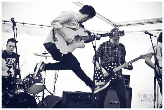 Lively indie rock from Doncaster, The Absolute.