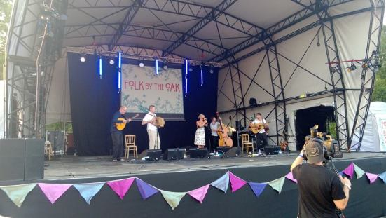 Kate Rusby and her band