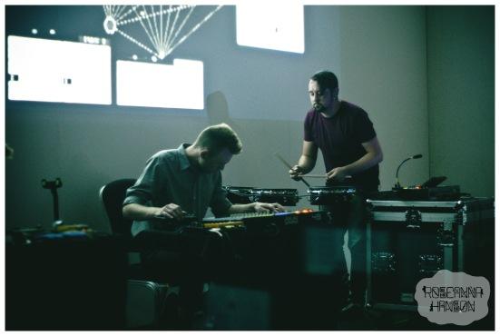 Sleepwalk City audio-visual installation by 65daysofstatic at the Millennium Gallery
