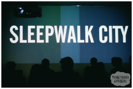 Sleepwalk City audio-visual installation by 65daysofstatic at the Millennium Gallery