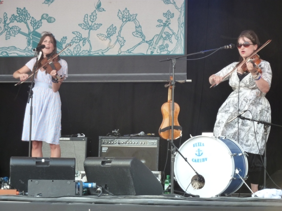 Bella Hardy and Eliza Carthy on the Main Stage