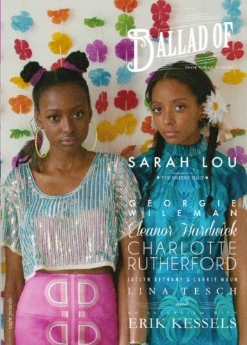 Issue 8, Ballad Of... Sarah Lou.  Sisters' Issue (cover 2)