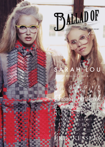 Issue 8, Ballad Of... Sarah Lou.  Sisters' Issue (cover 1)