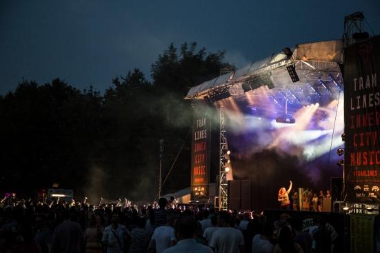 Katy B on the Main Stage © Roseanna Hanson