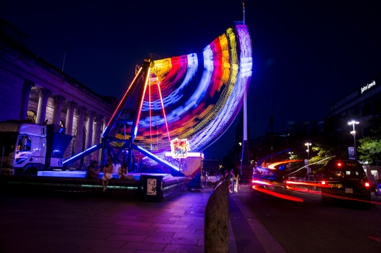 Outside Sheffield City Hall © Roseanna Hanson