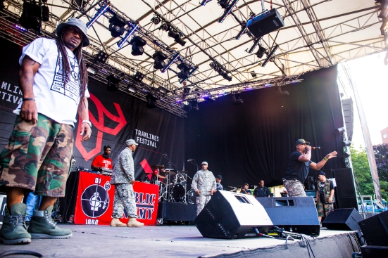 Public Enemy on the Main Stage © Roseanna Hanson