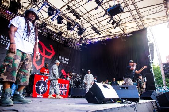 Public Enemy on the Main Stage © Roseanna Hanson