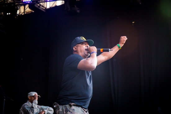 Chuck D and Public Enemy on the Main Stage © Roseanna Hanson