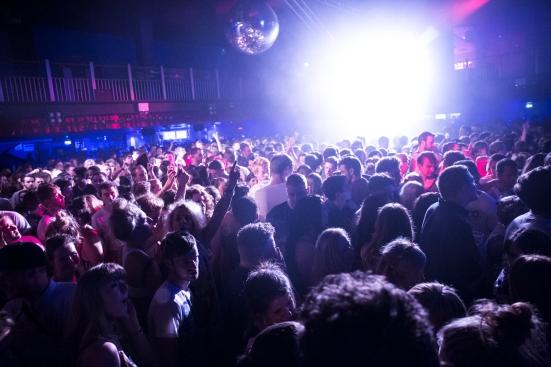 The crowd at O2 Academy © Roseanna Hanson