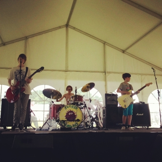 The Fluffy Gremlins play The Noize Assault Stage