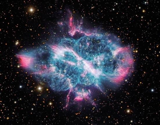Image credit: Spiral Planetary Nebula (2012) Robert Gendler.
