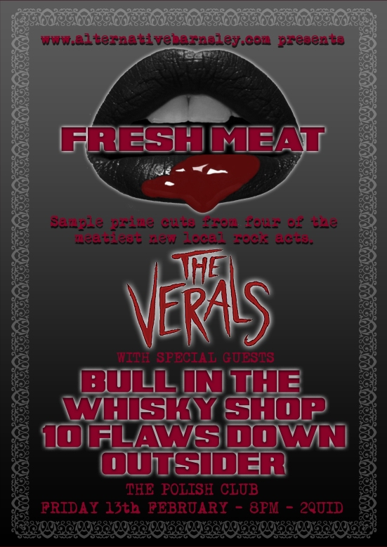 Fresh Meat Feb13 Poster