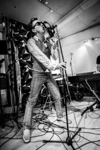 Mr Vegas in the studio © Mark Tighe