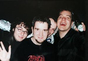 Strawberry Jack, including Richard Kitson (far left)