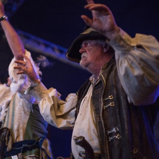 Pirate performers (not Galleon Blast) © Lewis Ryan